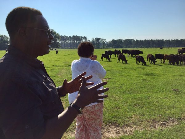 Visiting Melvin Jimmerson's ranch in rural Georgia