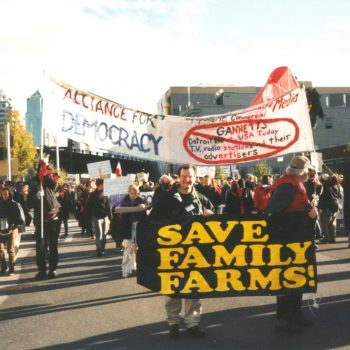 US Farmers, Allies in Solidarity with Historic Farmer Protests